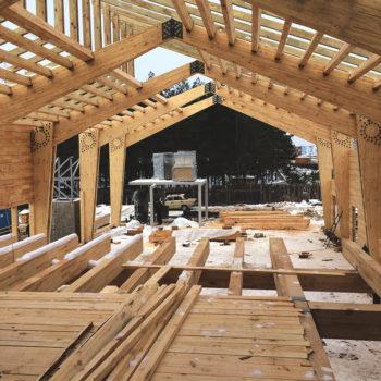 Клеєні дерев'яні конструкції