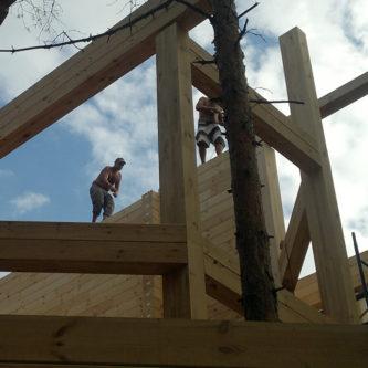 Будівництво фахверкових будинків