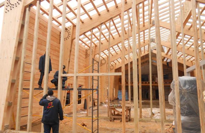 Строительство большепролетных конструкций