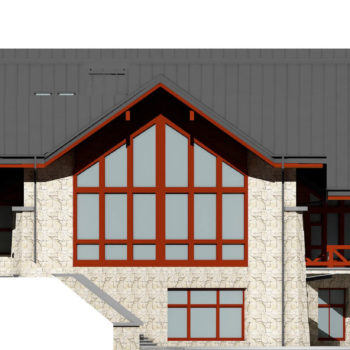 Проектирование ресторанного комплекса из дерева