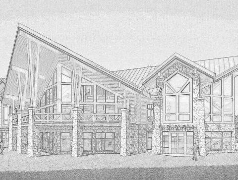 Ескізний проект будинку з бруса