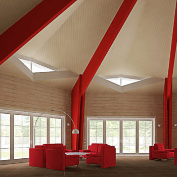 Строительство деревянного ресторана