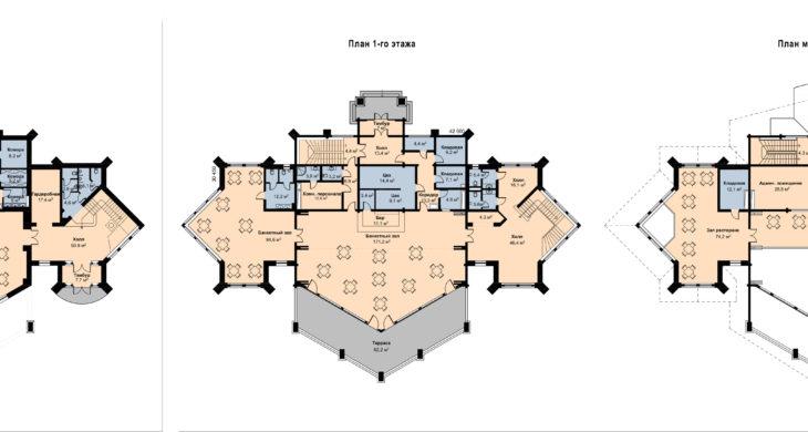 Проектирование гостиничного комплекса из дерева