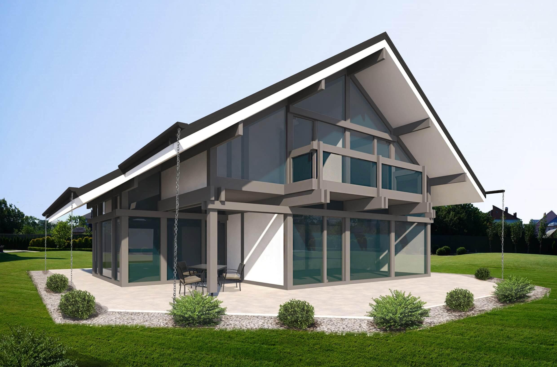 Фахверковый дом строительство