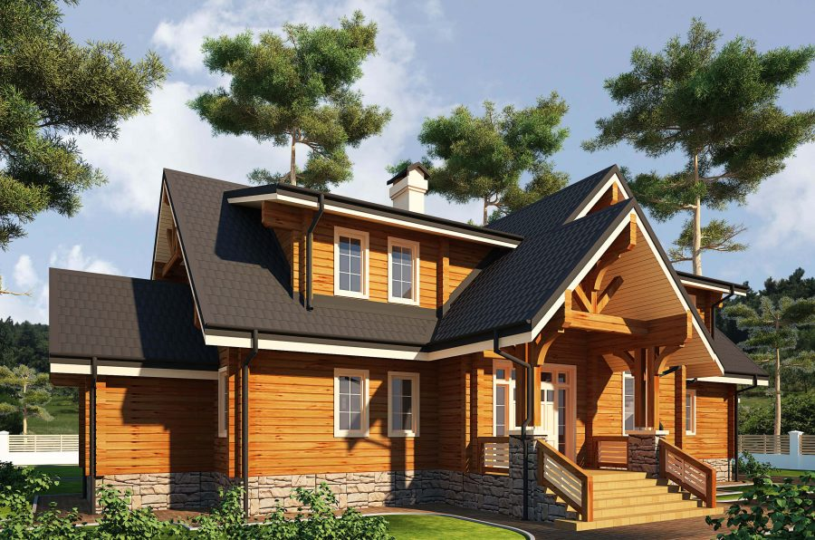Строительство деревянных домов honka