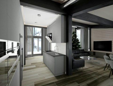 Дизайн-проект будинку з бруса