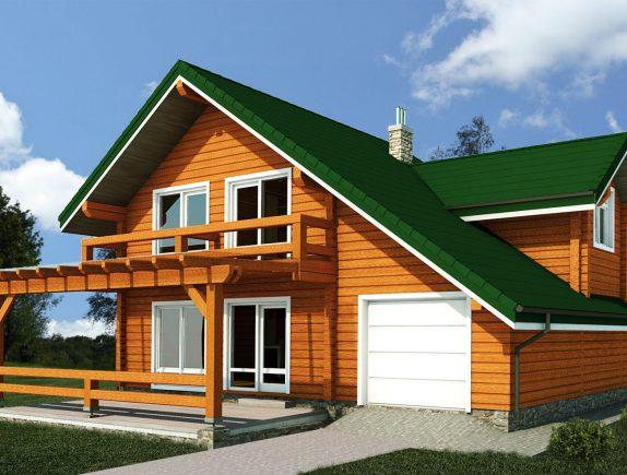 Проектирование домов из древесины