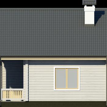 Деревянный дом для отдыха за городом