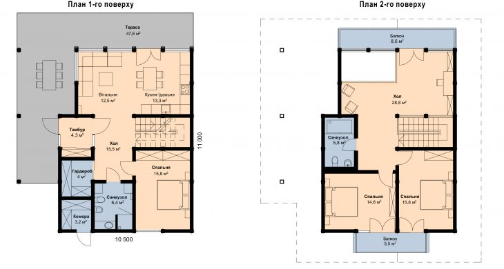 плани будинку