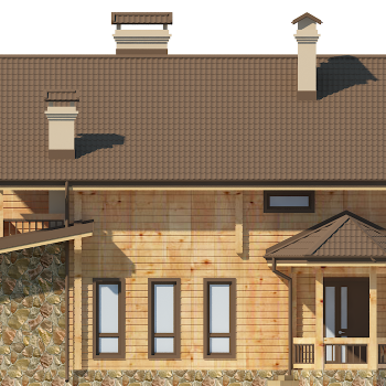 проект будинку з бруса