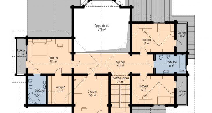 Єринія - план 2 поверху