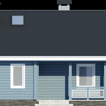 проект дома клееный брус