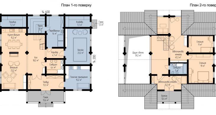 Глорія - плани поверхів