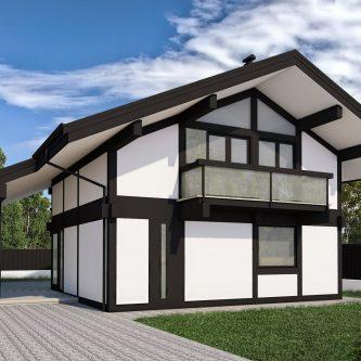 Фахверковий будинок
